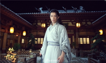Yan at his Oriele courtyard